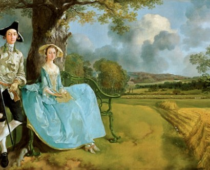 Gainsborough's Mr. and Mrs. Andrews